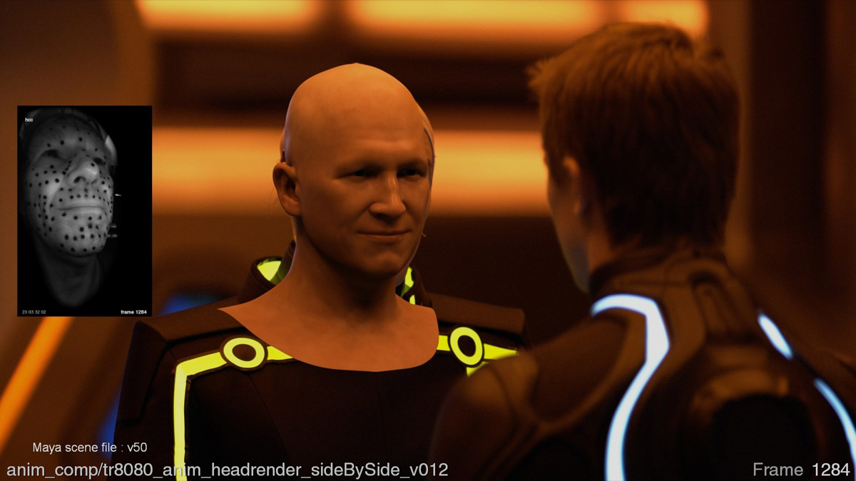 Tron Legacy Face Off Fxguide