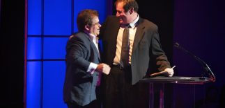 Patton Oswalt and Richard Kind