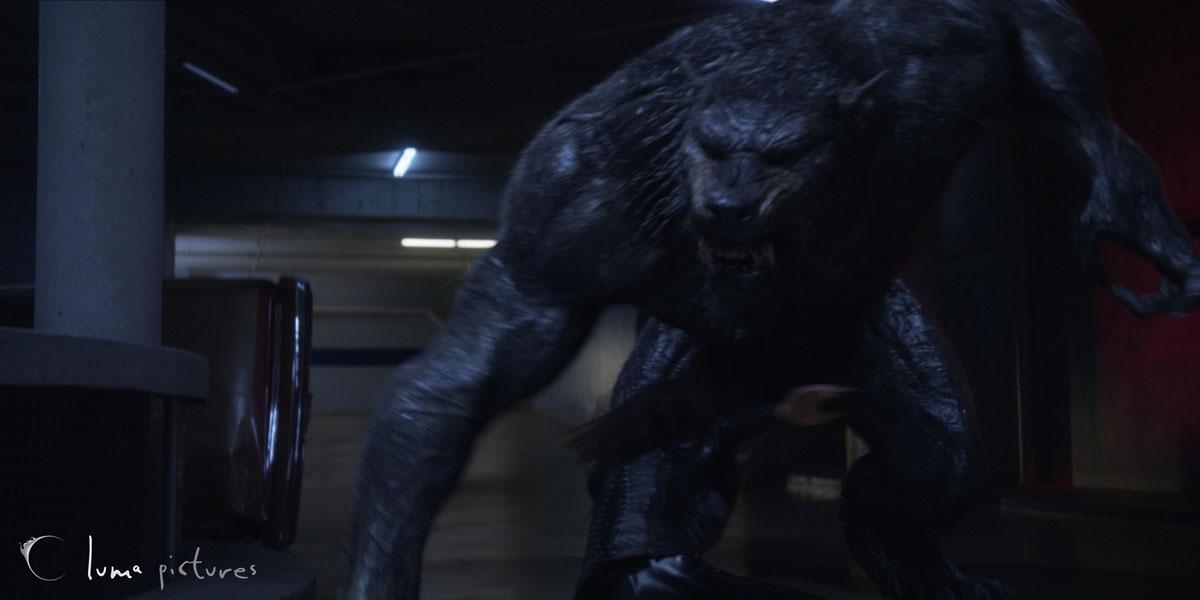Underworld Giant Werewolf Luma transforms underworld: awakening ...