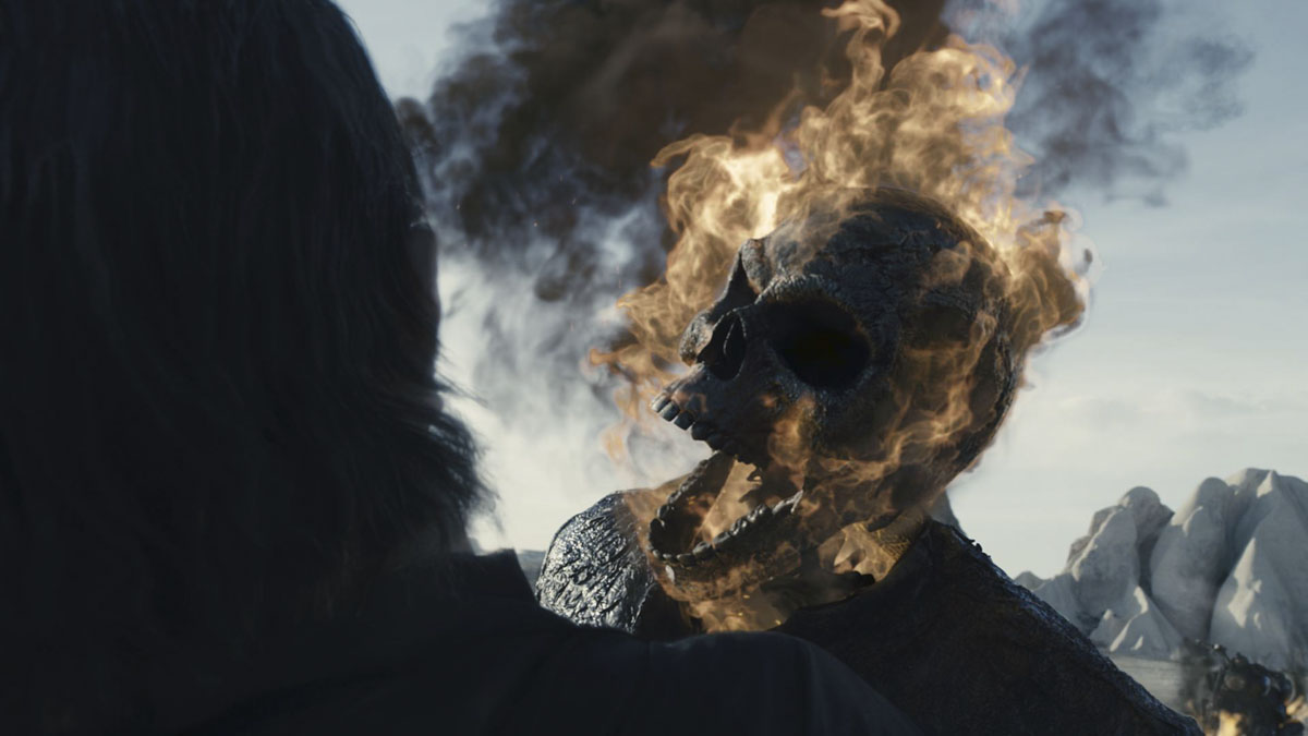 Spirit of Vengeance: a grittier Ghost Rider   fxguide Ghost Rider Spirit Of Vengeance Blue Fire