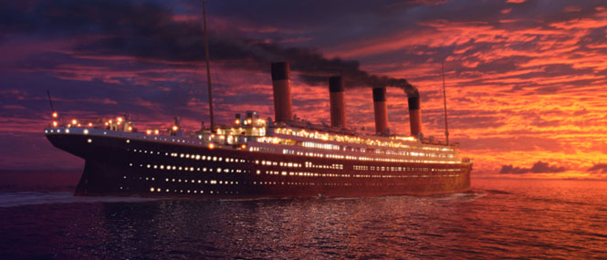 Titanic 3d return heart ocean