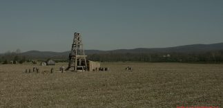 Oil Field Before
