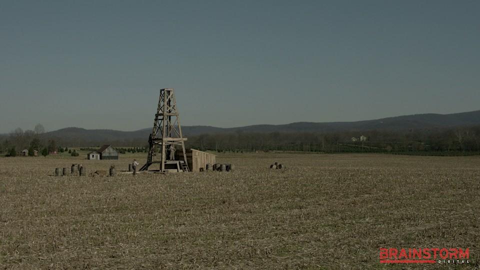 Oil Field Before