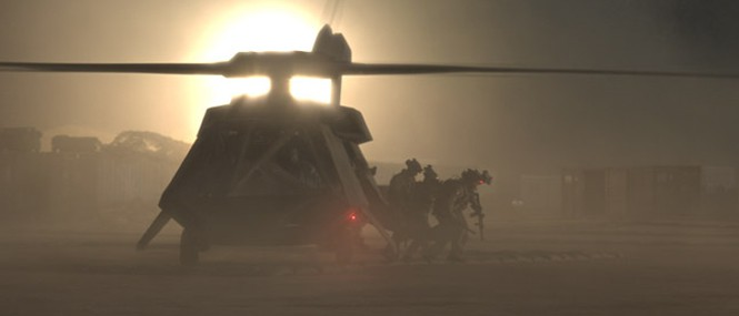 Zero Dark Thirty - VFX by Image Engine.