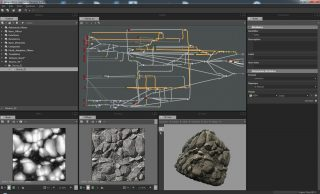 A screenshot from Substance Designer 3.