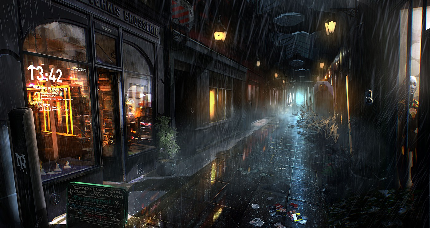 Game Environments Part C Making Wet Environments Fxguide