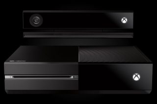 The new Xbox One console and Kinect.
