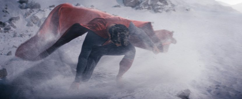MPC also worked on shots of Superman 'learning' to fly.