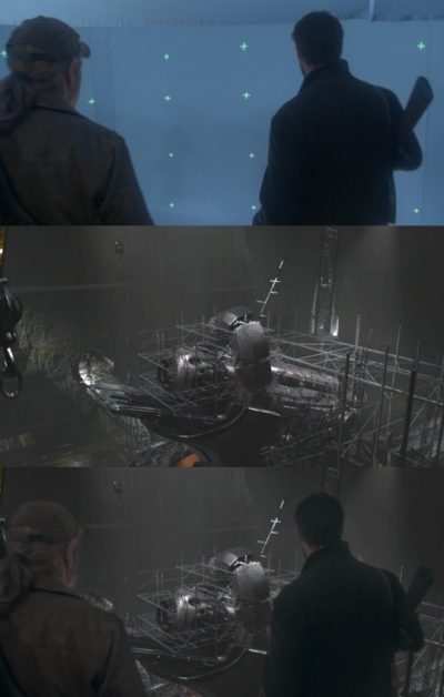 Breakdown of a shot from Falling Skies, a show Zoic contributes vfx to.