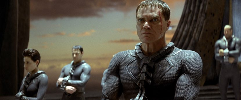 Zod and his followers are captured and banished to the Phantom Zone (also completed by Weta Digital).