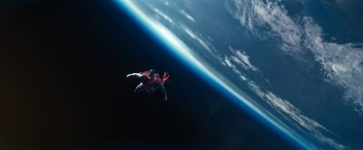 Superman takes to space. VFX by MPC.