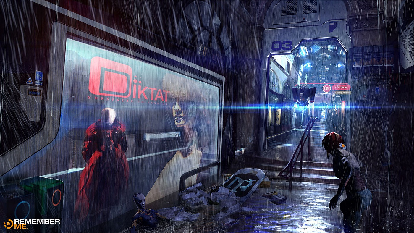 Video Game Environment Concept Art