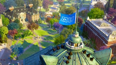 Monsters University Rendered in RenderMan at PIXAR Studios