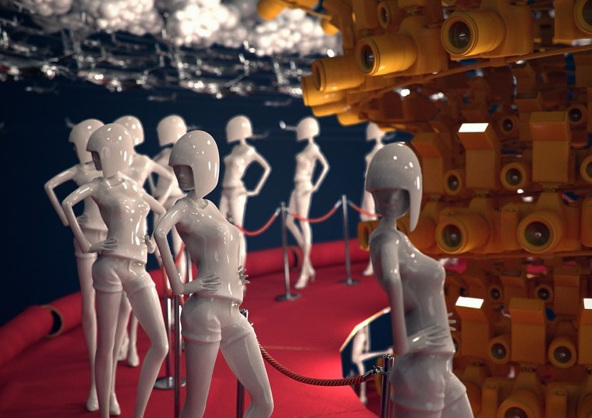 Image from MTV EMA ident rendered in Maxwell Render by Sehsuct Berlin.