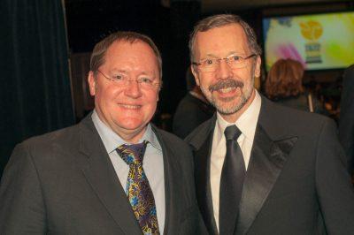 John Lasseter And Ed Catmull (copyright Heusser)
