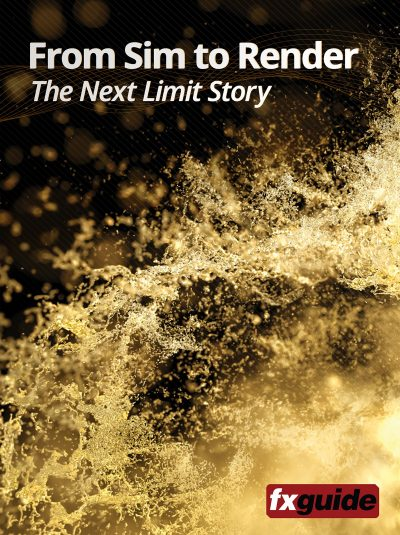 Want to know more about Maxwell Render? See fxguide's new iBook - From Sim to Render: The Next Limit Story available for free to download.