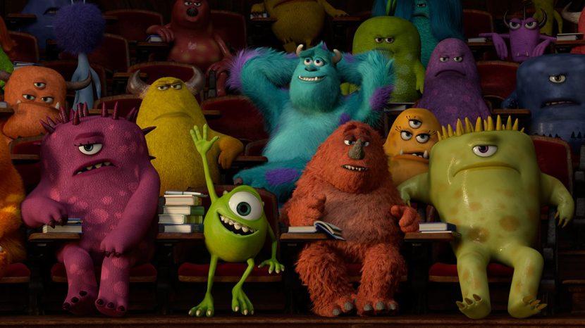 Monsters University. Rendered in RenderMan by Pixar.