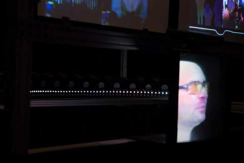 USC's Autostereoscopic Projector Array Optimized for 3D Facial Display.