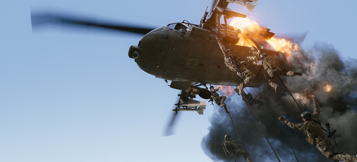 blackhawk helicopter firing