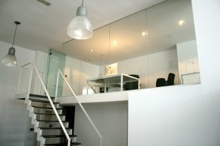 Another view of WEWORKs studio.
