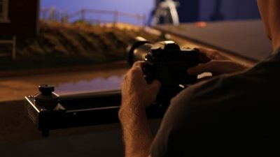 The miniatures were shot with the Nikon D7000.
