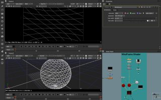 WireFrame Shader node.