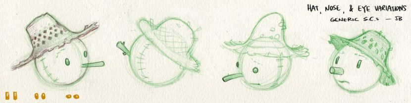 Scarecrow exploration artwork by Joe Bluhm.