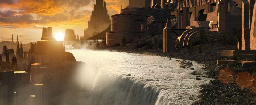 The Third Floor helped previs views of Asgard.