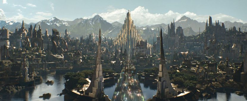 Double Negative crafted the vistas of Asgard.
