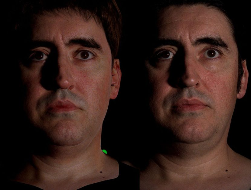 Real versus synthetic Dock Ock by Sony Pictures Imageworks.