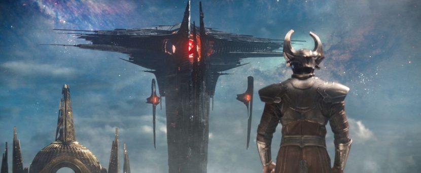 Heimdall see the Ark ship.