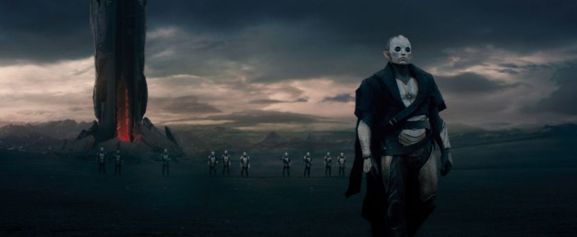 The production visited Iceland to film scenes for Svartalfheim.