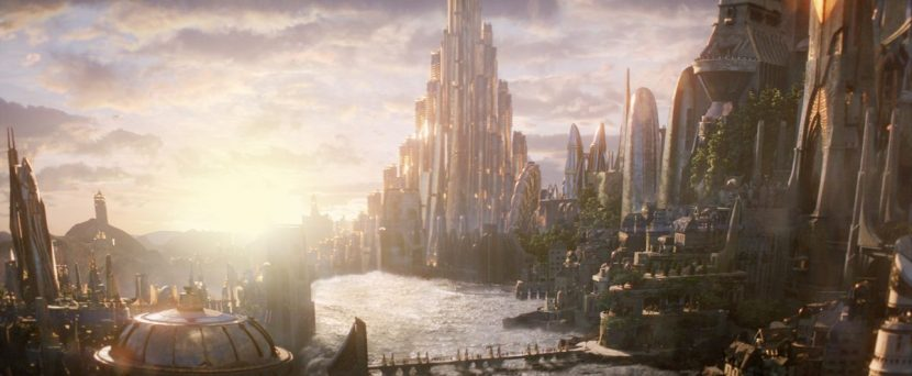 Another view of Asgard's palatial features.