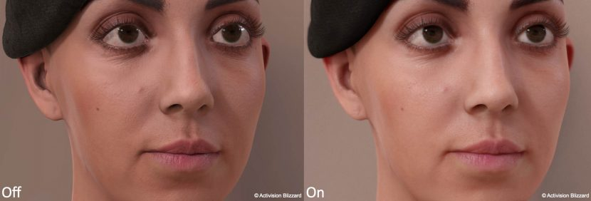 The difference of subtle but key work by Activision Please click to see a larger version.