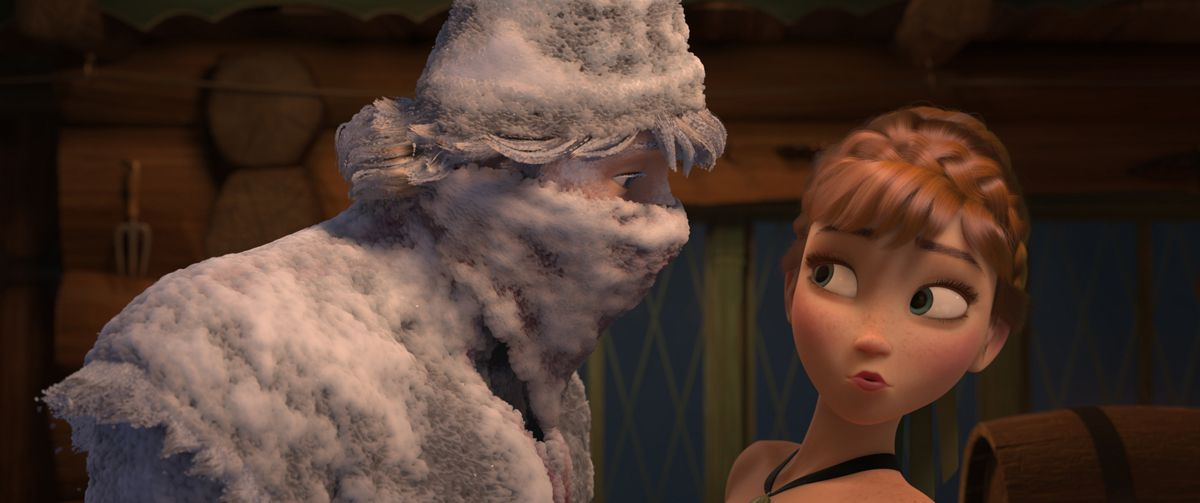 The Tech Of Disney S Frozen And Get A Horse Fxguide