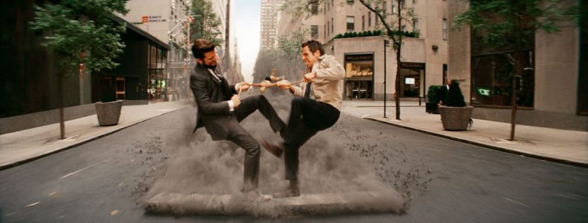 A still from the fight scene between Walter and