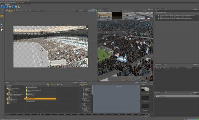 Crowd screenshot in Clarisse iFX.