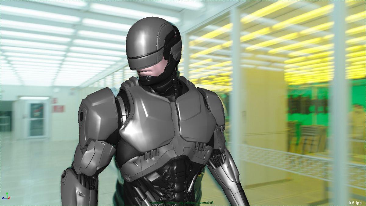 Robocop Costume Template Cardboard Samurai Armor That Looks