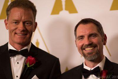 Eric Veach (left) and Thomas Lokovi