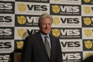 Presenter Bruce Boxleitner arrives at the Awards. Photo by Jeff Heusser.