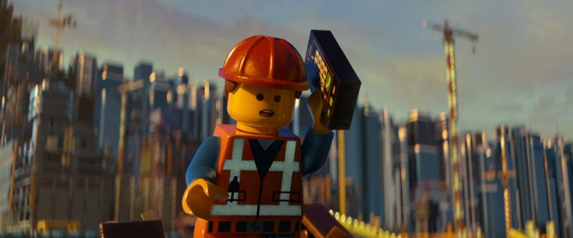 Animators embraced the limited movements that LEGO characters could perform.