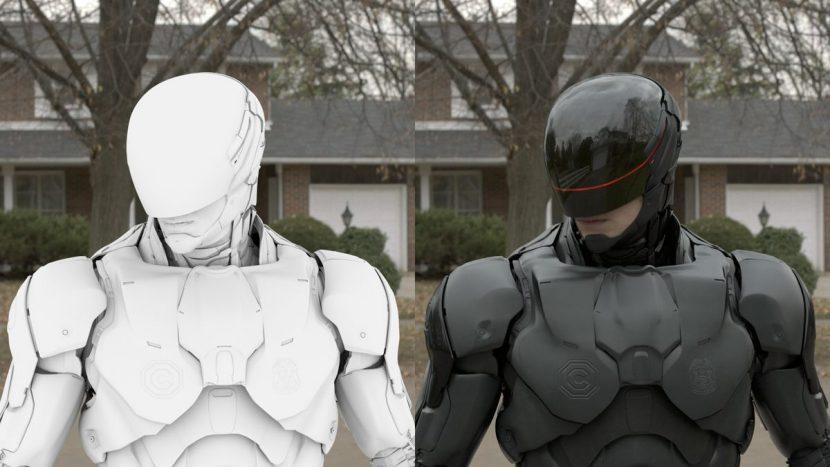Soho's digital suit work.