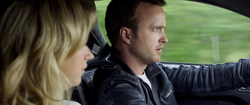Aaron Paul and Imogen Poots stay in Need for Speed.
