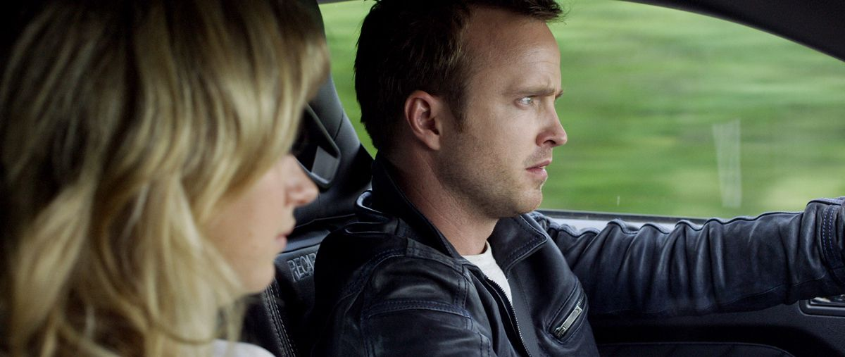Aaron Paul And Imogen Poots Stay In Need For Speed