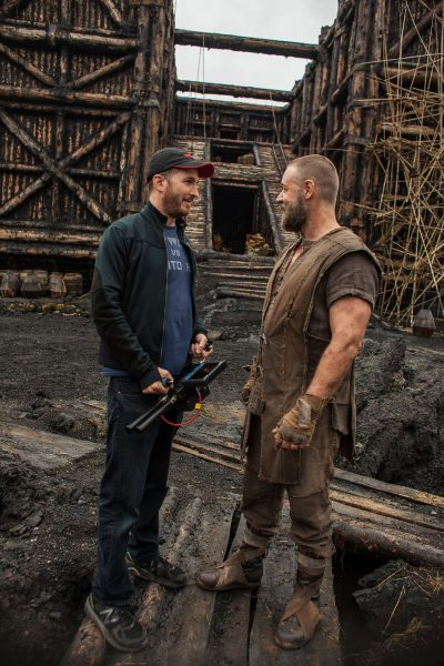 Aronofsky and Crowe.