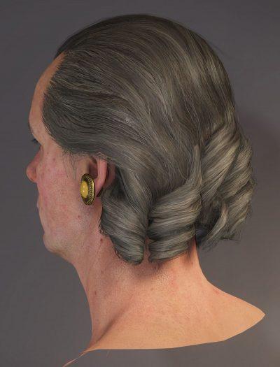 Basiluis hair - beauty render.