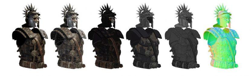 Armor renders.