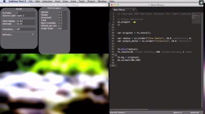 Programming Universe plugins