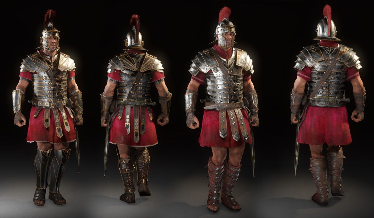 The Tech Of Crytek S Ryse Son Of Rome Fxguide