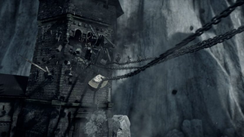 A tower seen in the game.